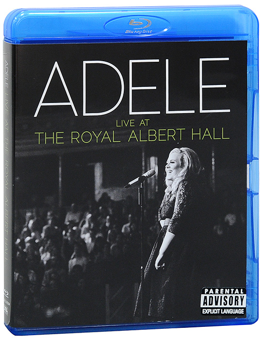 Adele: Live At The Royal Albert Hall (Blu-ray + CD) francis rossi live from st luke s london blu ray