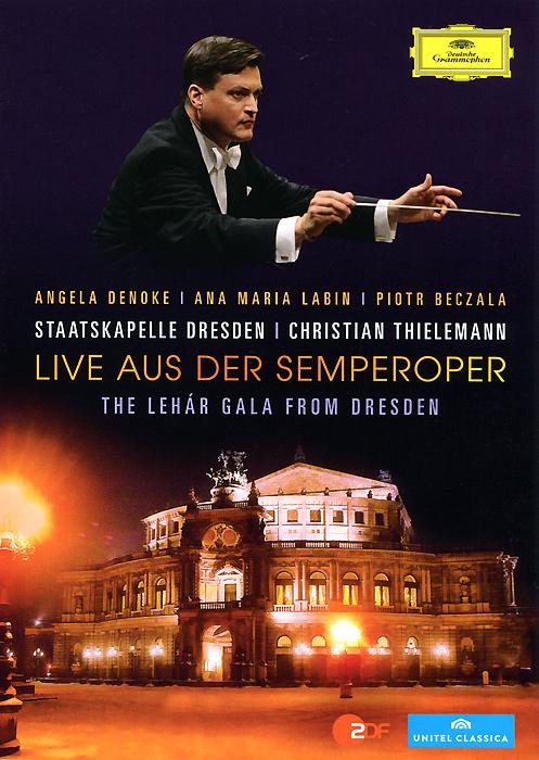 Christian Thielemann, Staatskapelle Dresden: Live Aus Der Semperoper: The Lehar Gala From Dresden strauss christian thielemann ariadne auf naxos blu ray