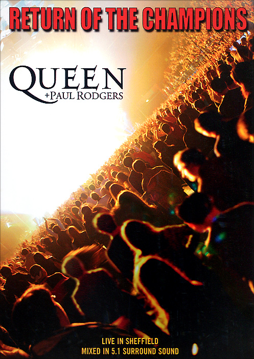 Queen, Paul Rodgers: Return Of The Champions save the queen ohdd повседневные брюки