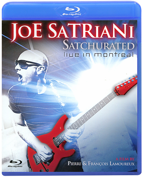 Joe Satriani: Satchurated, Live In Montreal 3D (Blu-ray) gift enmex creative style lady wristwatch gloden 3d vortex face creative design silicone band luminous brief casual quartz watch