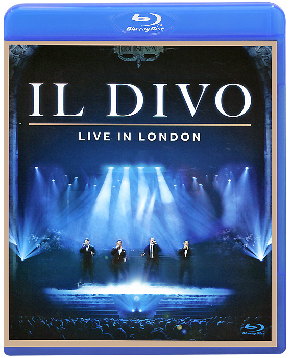 Il Divo: Live in London (Blu-ray) the berlin concert domingo netrebko villazon blu ray