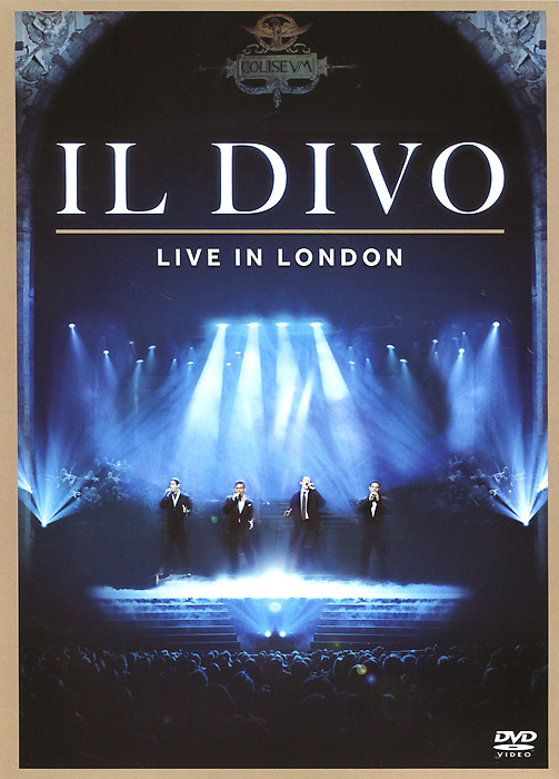 Il Divo: Live in London il divo live in london blu ray