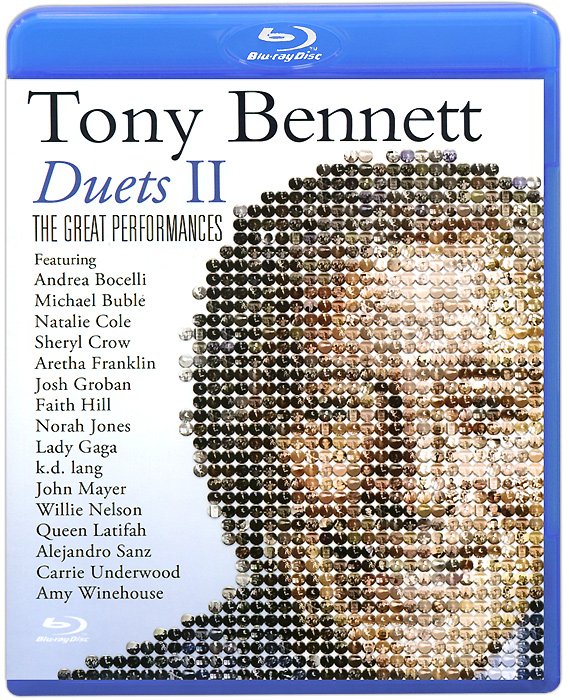 Tony Bennett: Duets II, The Great Performances (Blu-ray) new arrival pritech brand electric hair clipper shaver nose trimmer for men traveling and good packing gift