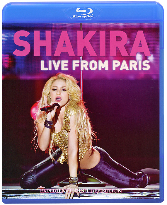 цены  Shakira: Live From Paris (Blu-ray)