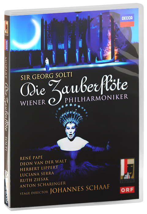 Sir Georg Solti, Mozart: Die Zauberflote (2 DVD) georg lukacs solzhenitsyn