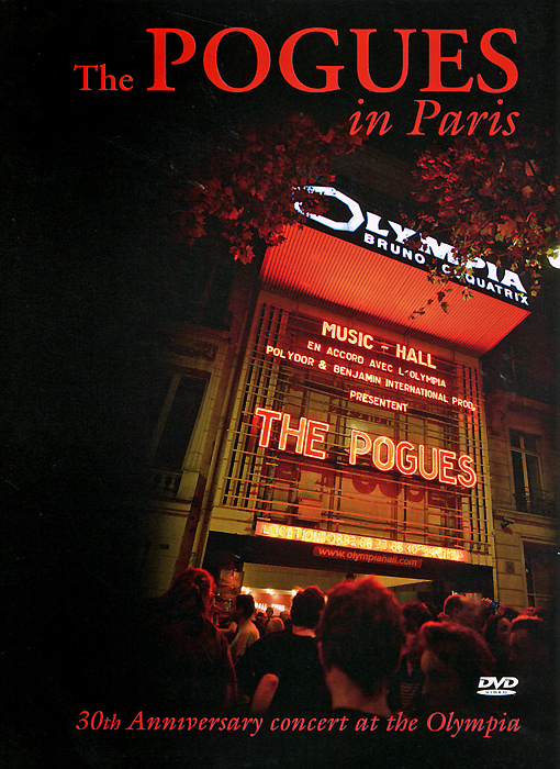 The Pogues In Paris the little old lady in saint tropez