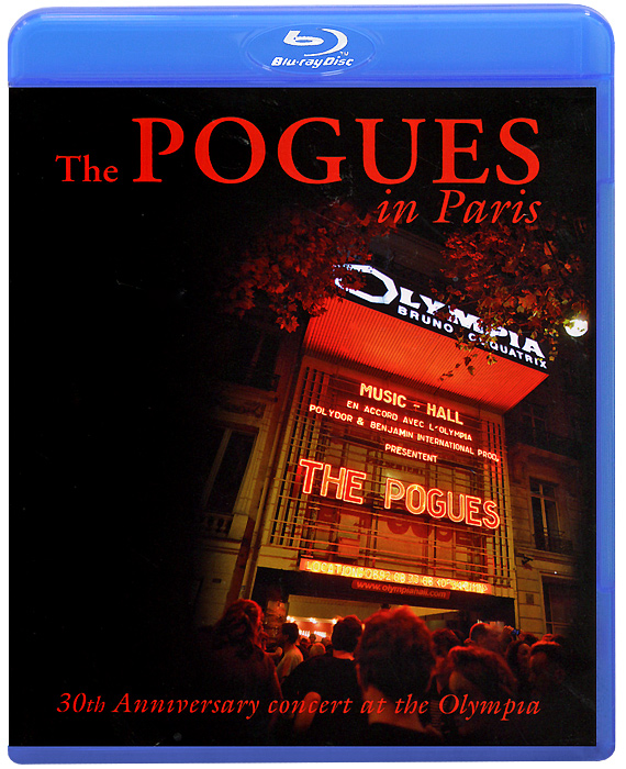 The Pogues In Paris (Blu-ray) celine dion through the eyes of the world blu ray