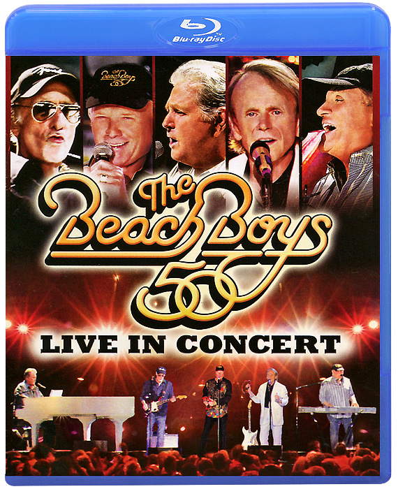 The Beach Boys 50: Live In Concert (Blu-ray) toto tour live in poland 35th anniversary blu ray