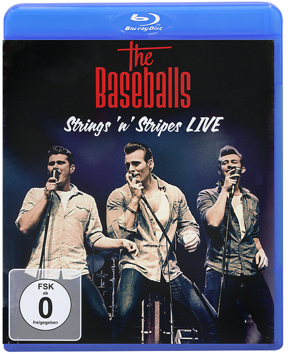 The Baseballs: Strings 'n' Stripes Live (Blu-ray) zz top live at montreux 2013 blu ray