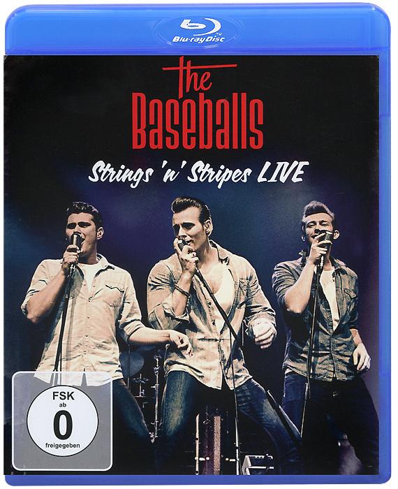 The Baseballs: Strings 'n' Stripes Live (Blu-ray) stromae racine carree live blu ray