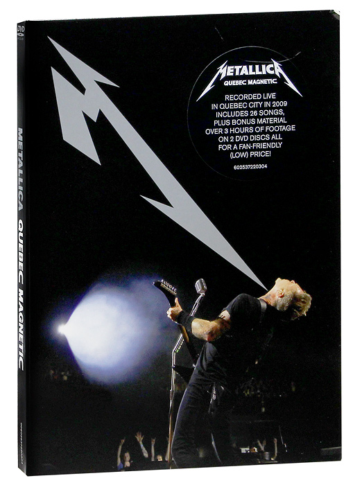 Metallica: Quebec Magnetic (2 DVD) metallica quebec magnetic 2 dvd