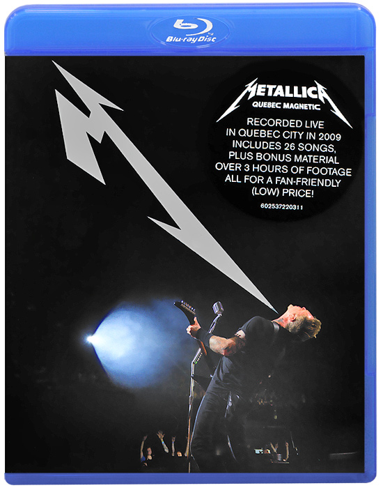 Metallica: Quebec Magnetic (Blu-ray) metallica quebec magnetic 2 dvd