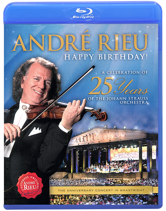 Andre Rieu: A Celebration Of 25 Years Of The Johann Strauss Orchestra the convoy tour 25 years of the ex