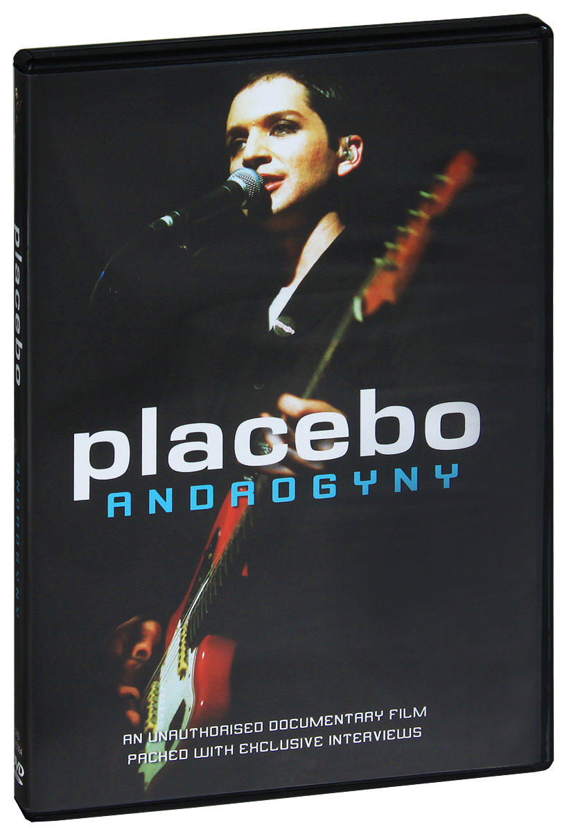 Placebo are inarguably the cream of the crop when it comes to modern day Glam Rock. Following in David Bowie's footsteps with their cross-dressing costumes and powder white make-up, they have not only developed the genre into a new millennium phenomena, but have also played in a hit film based on the scene's 1970s origins. Theatrical shows, catchy tunes, bizarre yet poetic lyrics and androgynous frontman Brian Molko's unique voice make them a must for the freaks and the beautiful people alike. 'Placebo: Androgyny' tells the tale of this strange collective. It follows their journey from a chance meeting at a London tube station, to playing festivals and arenas around the globe. It reveals what has influenced and shaped them into becoming one of the biggest cult acts in the world today, and predicts what lies ahead.  The complete and unauthorised DVD documentary of Placebo.  Features exclusive interviews with the band, rarely seen photographs (some from private collections), location clips and a host of other features In-depth and revealing commentary from those who know Placebo best including: Simon Williams (MD of Fierce Panda Records), Tony Smith (MD of Deceptive Records), Alan Little (Studio Owner and Producer of their first demo), Richard Smith (Gay Times and Melody Maker journalist), Ben Graham (Placebo biographer), Simon Breed (ex-band member, long term friend and lead singer in 'Breed' in which Steve Hewitt played drums), Gerald Lidstone & Robert Gordon (Brian's lecturers at Goldsmiths College), Jessica Otterwell (editor of 'Placebo Palace' website), Johnny К (Fly music magazine journalist) and many others.  DVD special features include an extensive Placebo discography and digital trivia quiz.