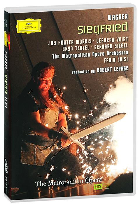 Wagner, Fabio Luisi: Siegfried (2 DVD) блокада 2 dvd