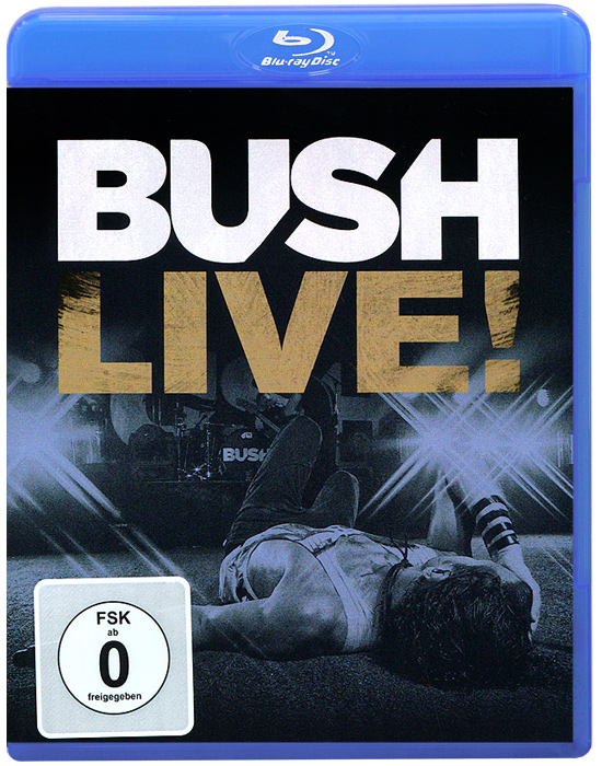 Bush: Live! (Blu-ray) the berlin concert domingo netrebko villazon blu ray