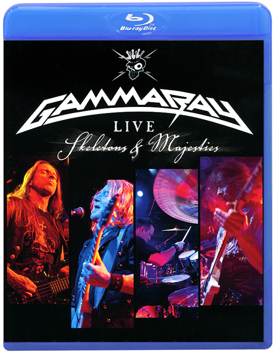 Gamma Ray: Skeletons & Majesties, Live (Blu-ray) celine dion through the eyes of the world blu ray