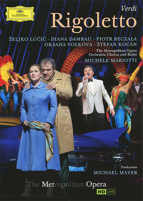 Acclaim for the MET's new Rigoletto, set in 1960 Las Vegas: