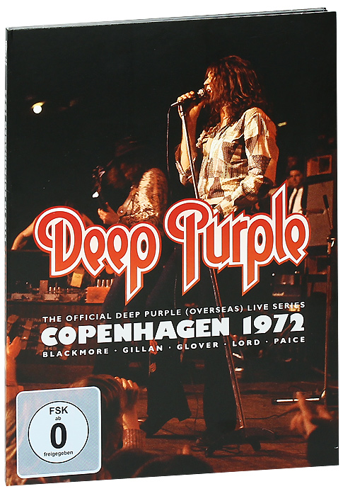 Deep Purple: Copenhagen 1972 deep purple deep purple stormbringer 35th anniversary edition cd dvd