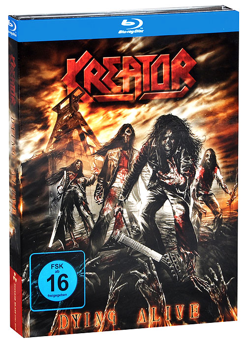 Kreator: Dying Alive (Blu-ray + 2 CD) alive or just breathing cd