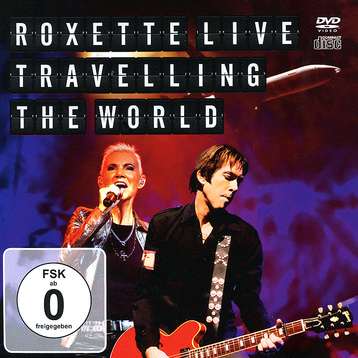 Roxette: Live: Travelling The World (DVD + CD) 2014 2ne1 world tour live all or nothing in seoul
