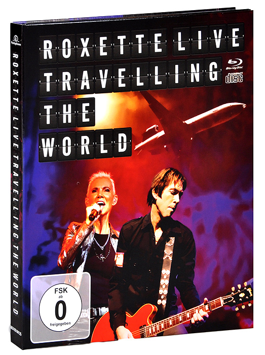 Roxette: Live: Travelling The World (Blu-ray + CD) celine dion through the eyes of the world blu ray
