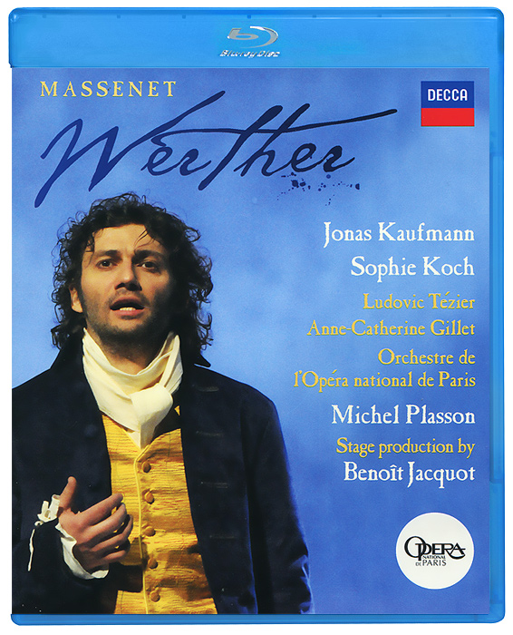 Internationally acclaimed tenor Jonas Kaufmann triumphs as the lovelorn young poet in Massenet`s great Romantic opera. A superb French supporting cast, led by Sophie Koch as his beloved Charlotte, is conducted by the legendary French maestro Michel Plasson, bringing to life this dramatically truthful period production by celebrated film director, Benoit Jacquot, whose intention was to