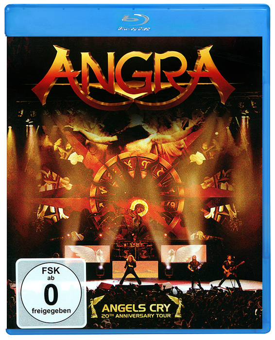 Angra: Angels Cry - 20th Anniversary Tour (Blu-ray) toto live in amsterdam 25th anniversary blu ray