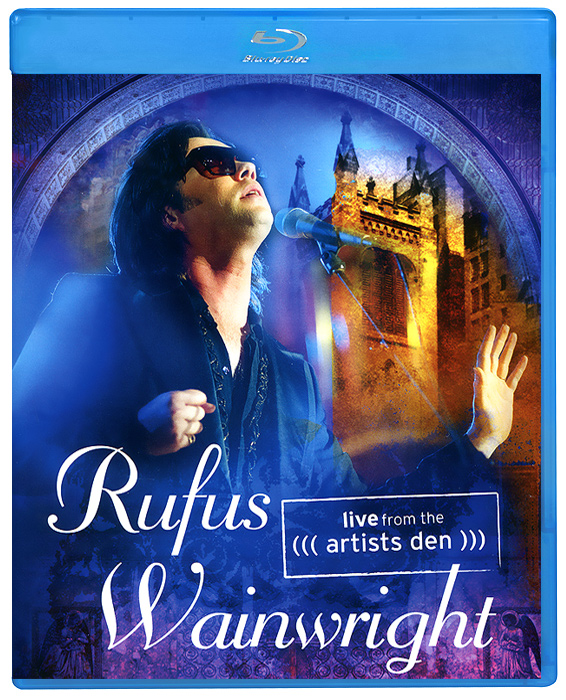 Rufus Wainwright: Live From The Artists Den (Blu-Ray) francis rossi live from st luke s london blu ray
