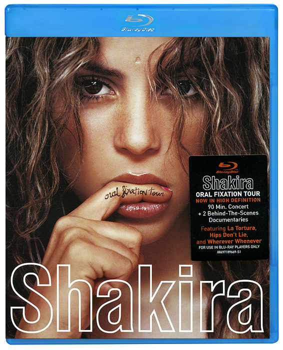 Shakira: Oral Fixation Tour (Blu-ray + CD) страсти христовы blu ray