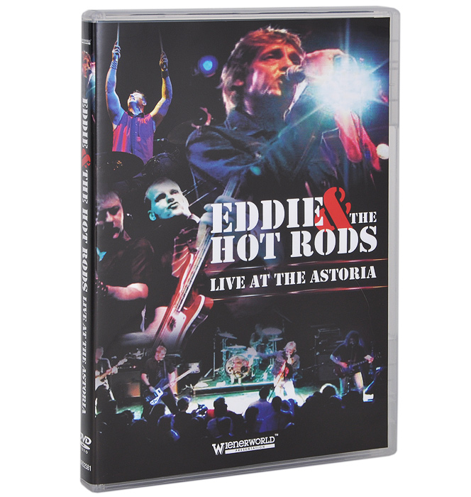 Eddie & The Hot Rods: Live At The Astoria eddie and dog