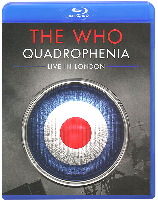 The Who: Quadrophenia - Live In London (Blu-ray) francis rossi live from st luke s london blu ray