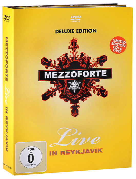Mezzoforte: Live In Reykjavik. Deluxe Edition (DVD + 2 CD) джеймс блант james blunt all the lost souls deluxe edition cd dvd