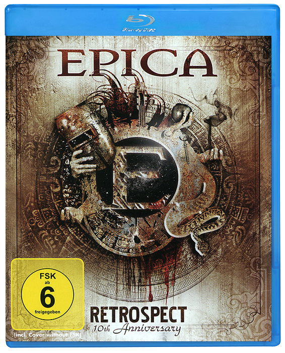 Epica: Retrospect. 10th Anniversary (2 Blu-ray) розовая пантера 2 blu ray