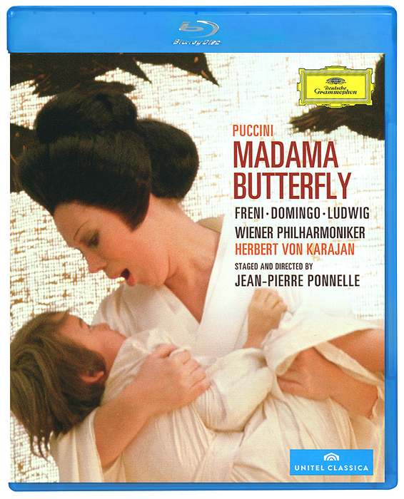 Giacomo Puccini: Madama Butterfly (Blu-ray) the berlin concert domingo netrebko villazon blu ray