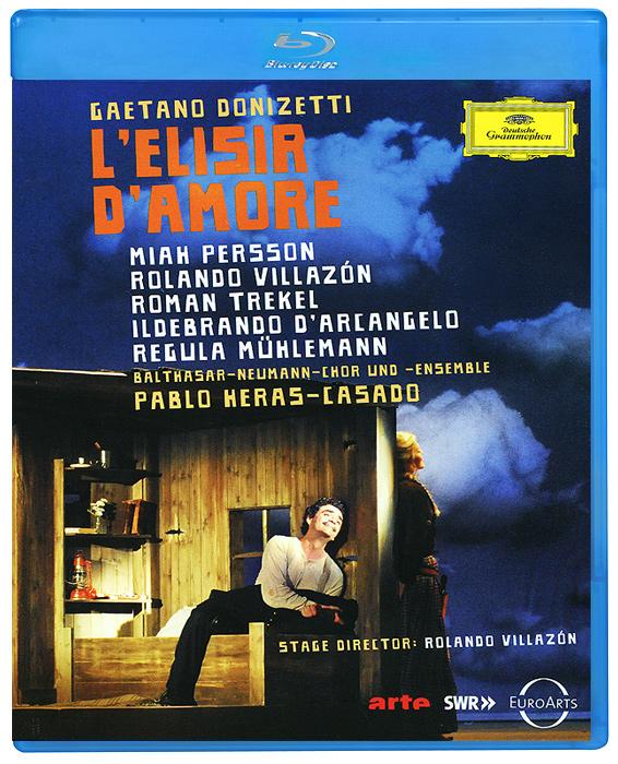 Миа Перссон, Роландо Виллазон («Massenet: Manon Manon»), Роман Трэкель в драме Роландо  Виллазона «L'elisir D'amore».