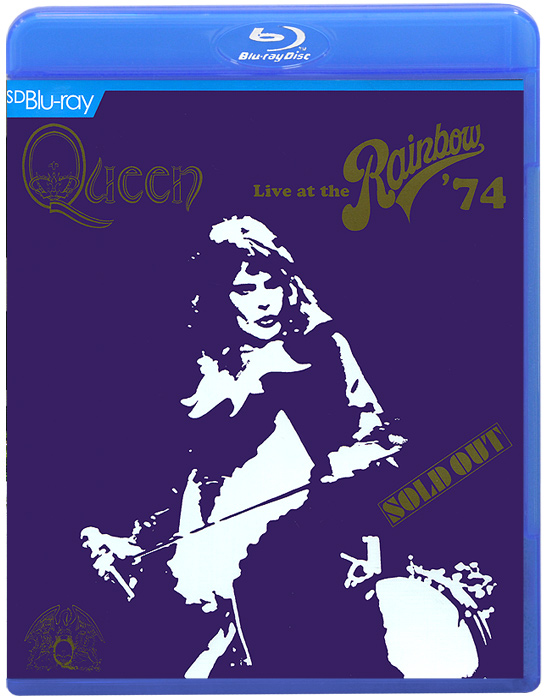 Queen. Live At The Rainbow 74 (Blu-ray)