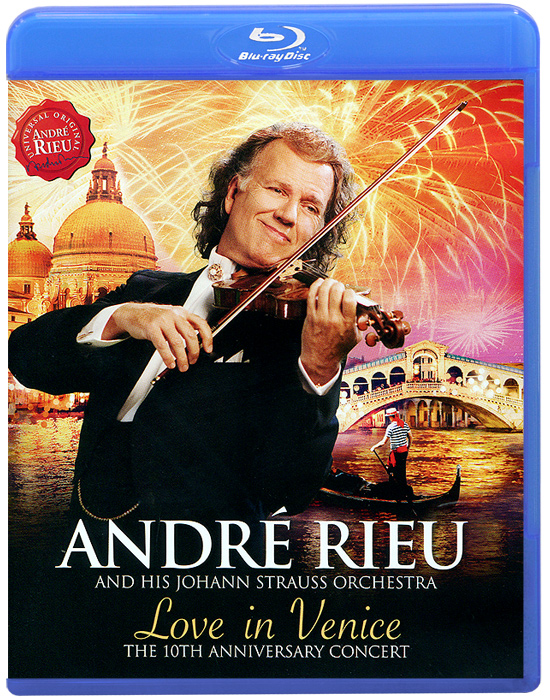 Andre Rieu. Love In Venice (Blu-ray) купить