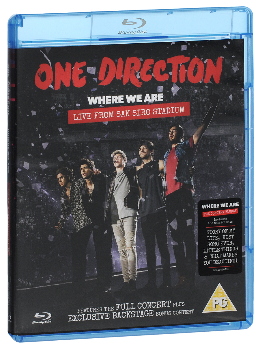 One Direction: Where We Are, Live From San Siro Stadium (Blu-ray) shania still the one live from vegas blu ray