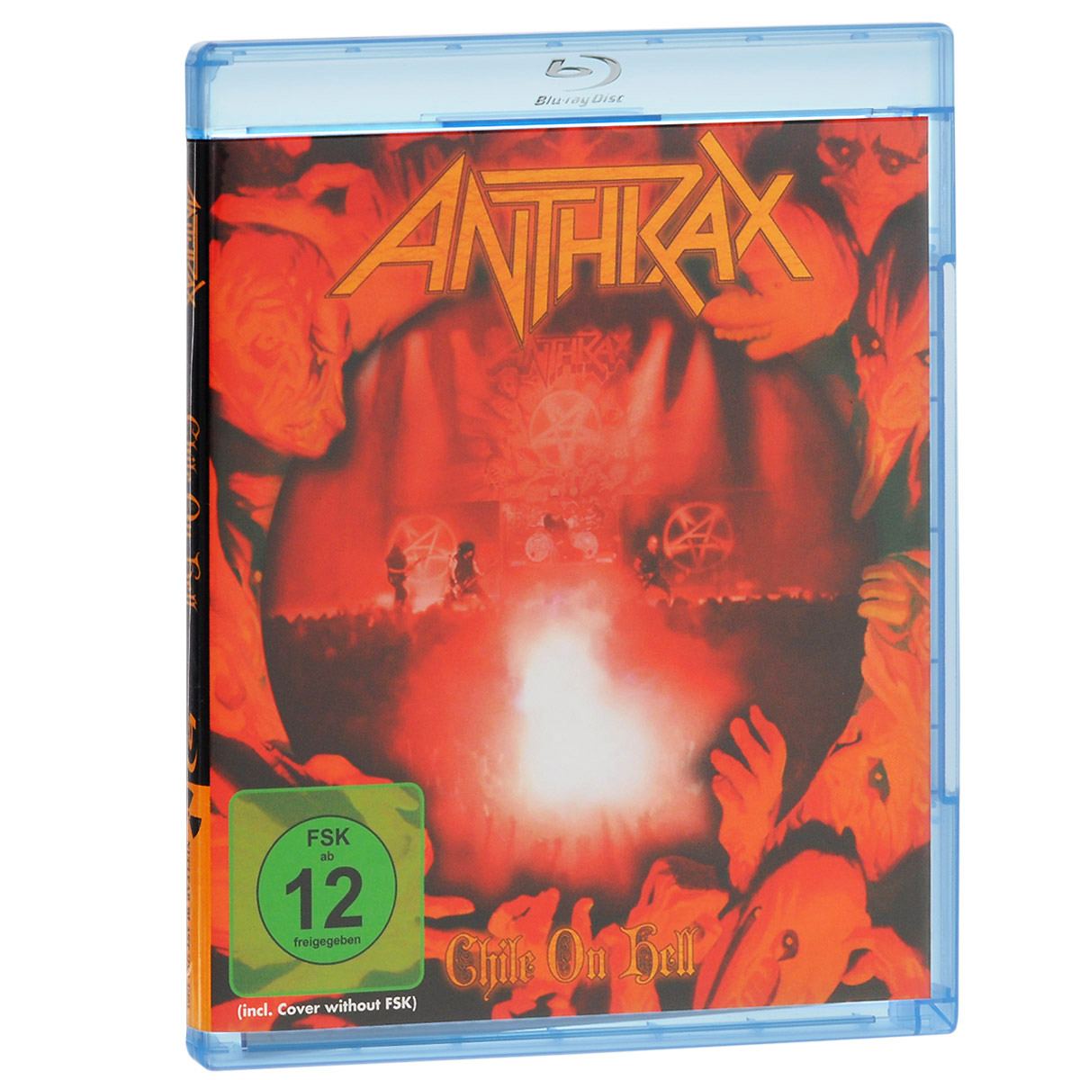 Anthrax. Chile On Hell (Blu-ray) anthrax chile on hell blu ray 2 cd