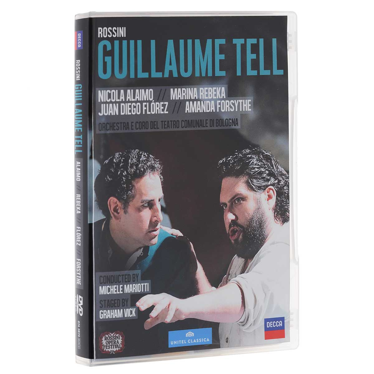 Michele Mariotti. Gioacchino Rossini. Guillaume Tell (2 DVD)
