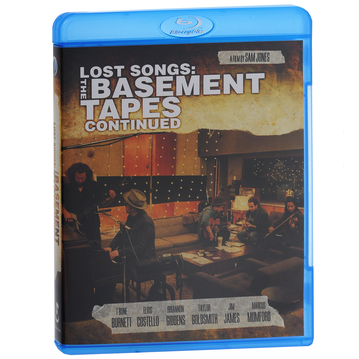 Lost Songs: The Basement Tapes Continued (Blu-ray) cd диск the doors when you re strange a film about the doors songs from the motion picture 1 cd