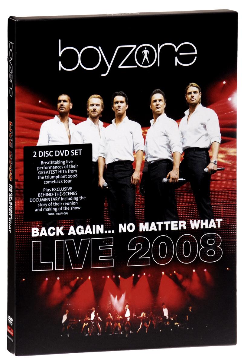 Boyzone: Back Again… No Matter What: Live 2008 (2 DVD)