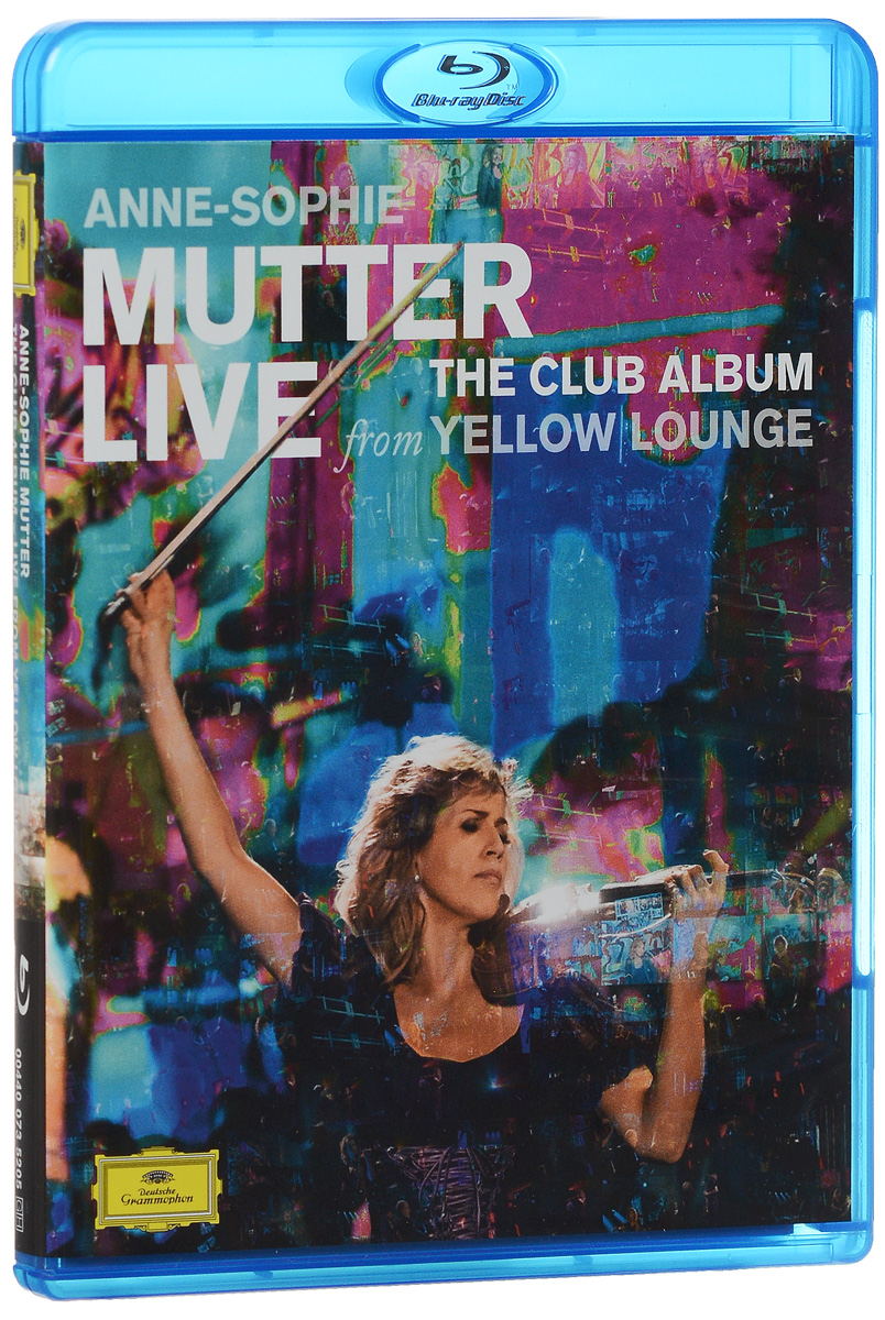 Anne-Sophie Mutter: Live From Yellow Lounge (Blu-ray) francis rossi live from st luke s london blu ray