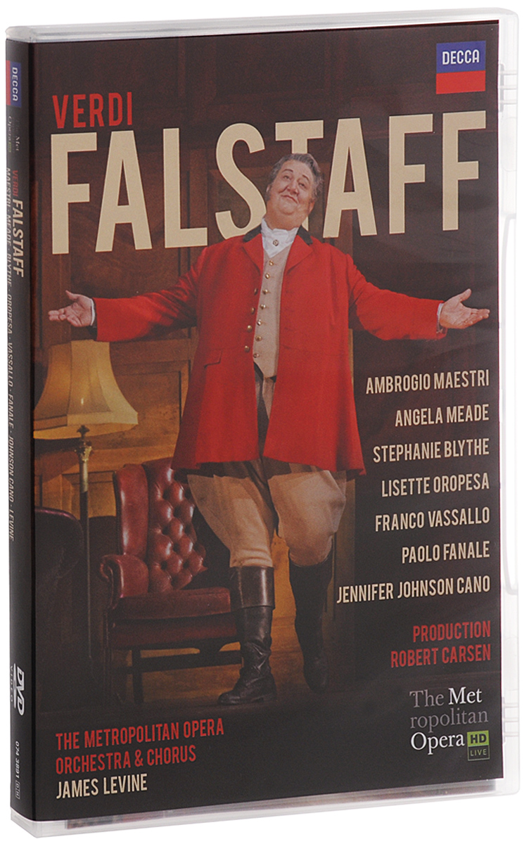 «When it comes to theatrical flair, captivating costumes, stage antics and imagination, there are many shows on Broadway to rival the Met's new Falstaff». This visual feast, served up dy director Robert Carsen, is a «thoughtful, affecting and hilarious staging that updates the action from the time of Henry IV to England in the 1950s»(New York Times). James Levine conducts Verdi's final masterpiece with «affectionate energy» while Ambrogio Maestri. Heading a stellar cast, projects «towering bravado and rare baritonal fervor in the title role» (Financial Times).