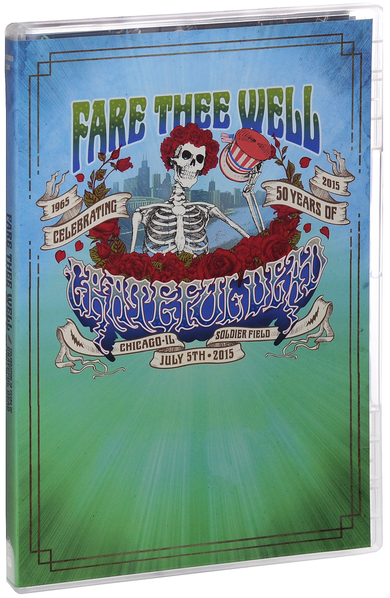 Crateful Dead: Fare Thee Well Celebrating 50 Years Of Crateful Dead (2 DVD) cd the grateful dead fare thee well