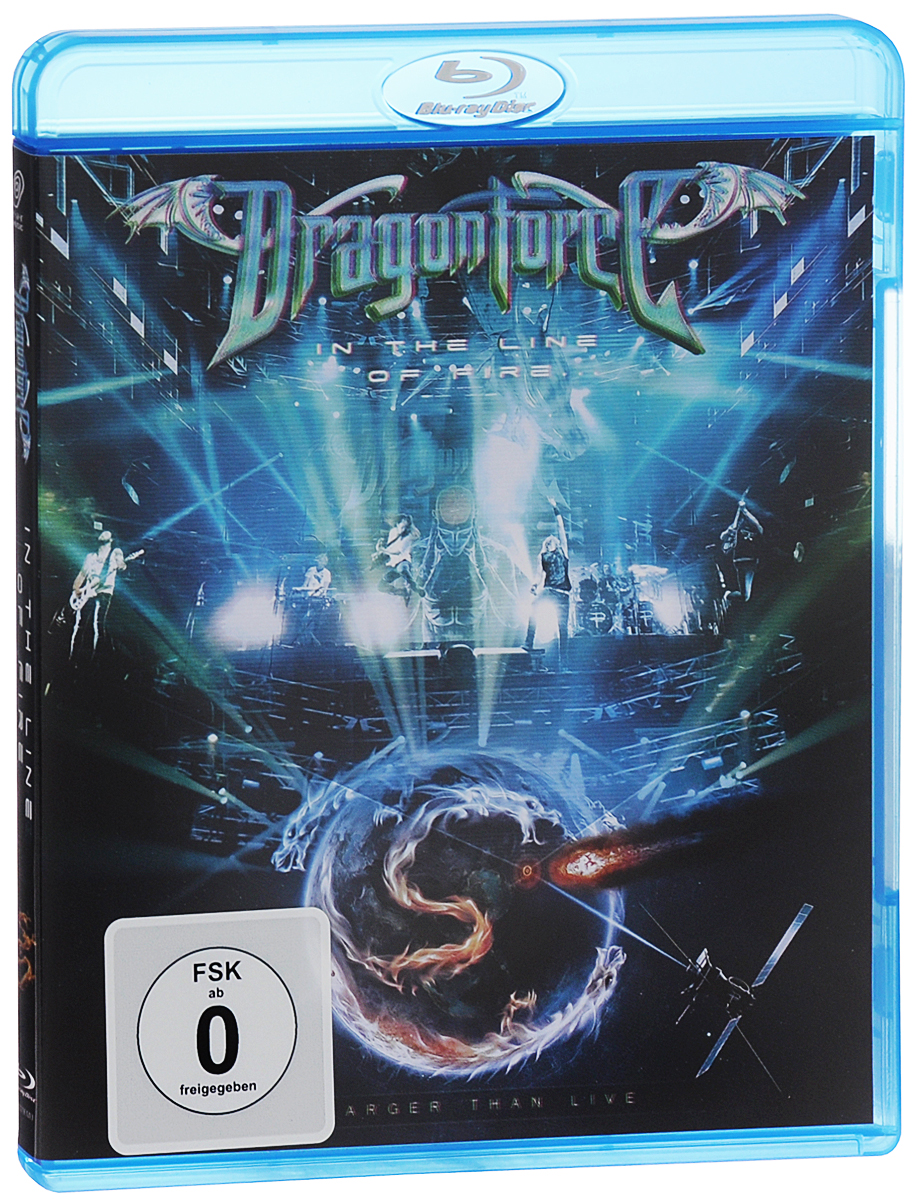 Dragonforce: In The Line Of Fire. Larger Than Live (Blu-ray)