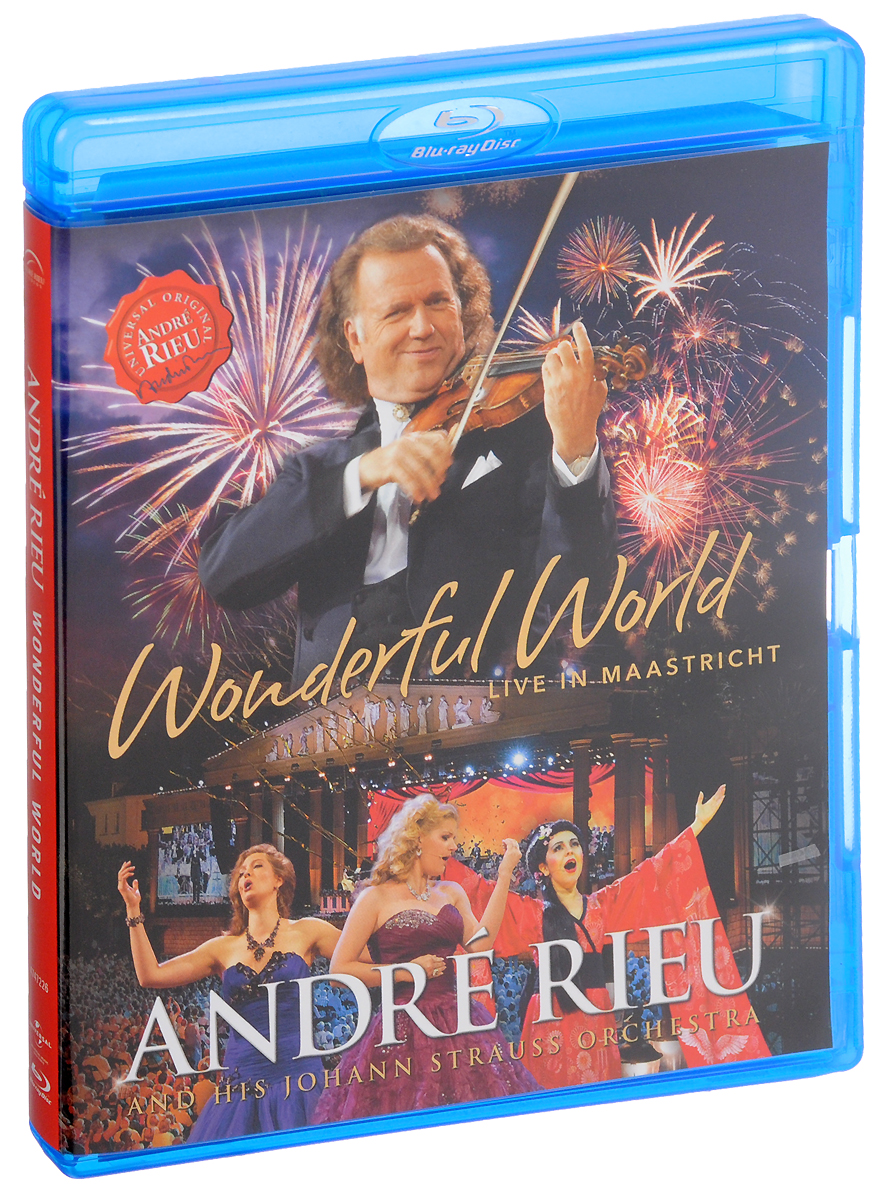 Andre Rieu: Wonderful World: Live In Maastricht (Blu-ray) strauss christian thielemann ariadne auf naxos blu ray