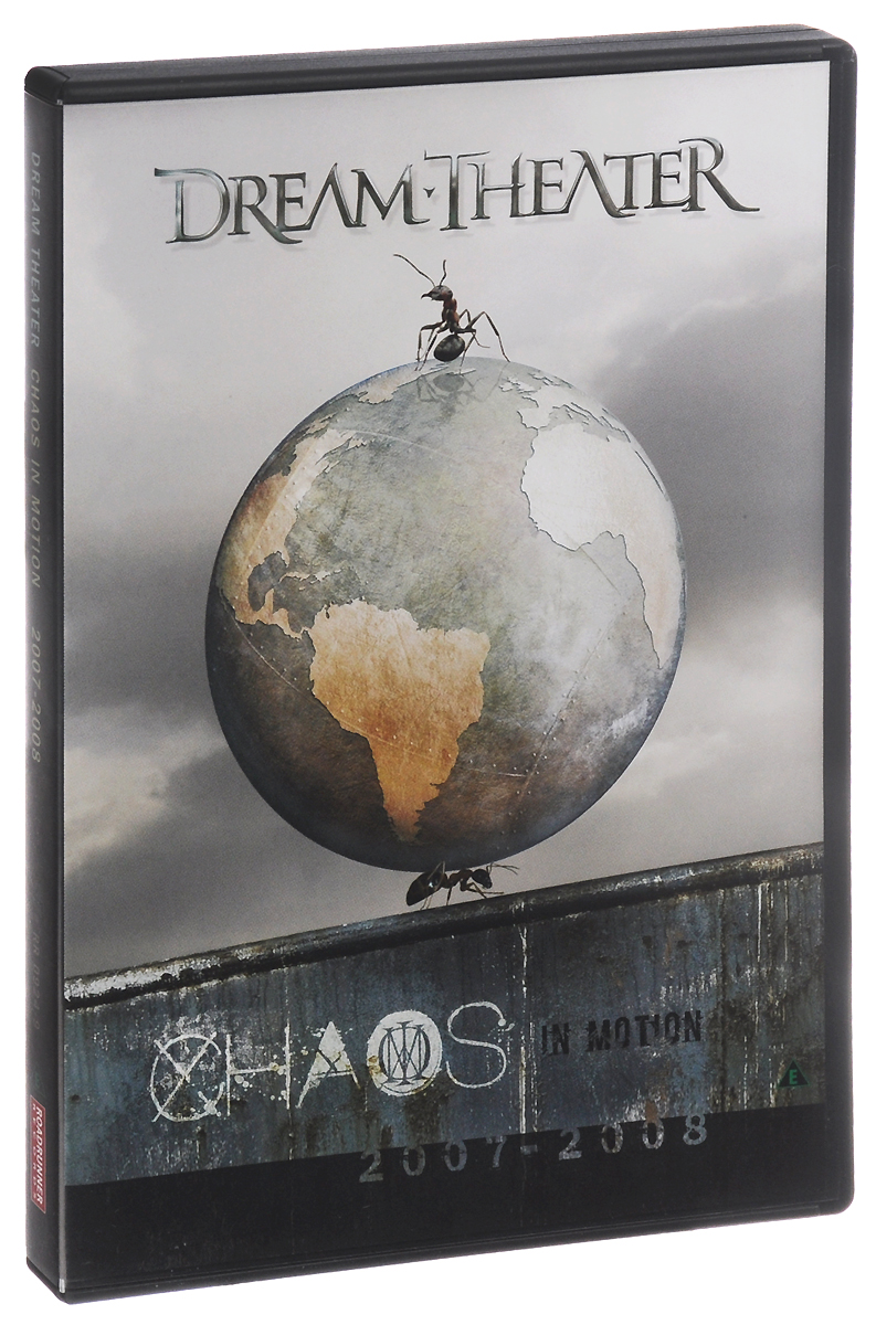 Dream Theater: Chaos In Motion: 2007-2008 (2 DVD) dream theater chaos in motion 2007 2008 2 dvd