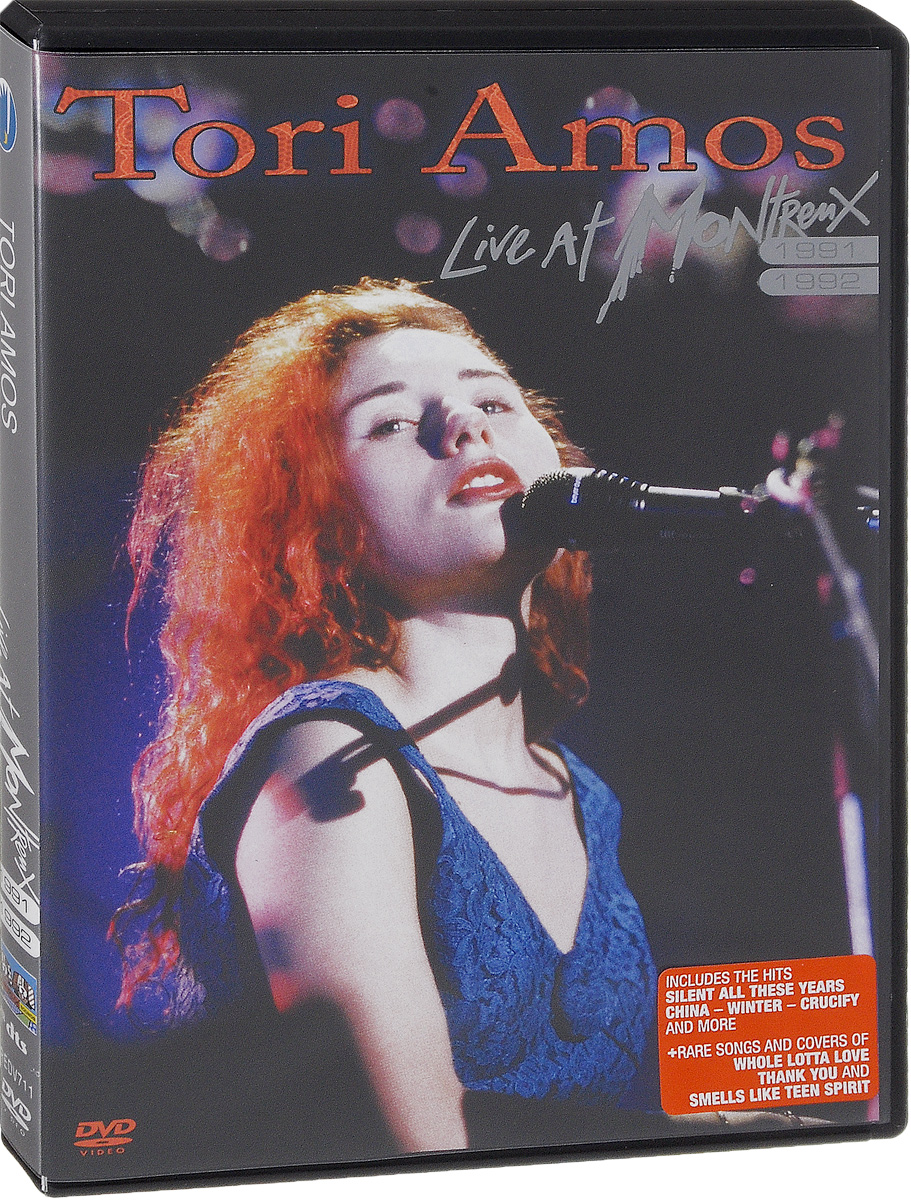 Tori Amos: Live At Montreux 1991 & 1992 тори эмос tori amos little earthquakes lp